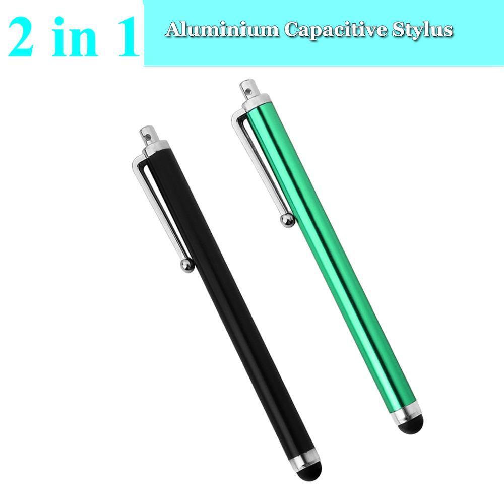 2PCS x Capacitive Stylus / Styli Pen for Samsung Galaxy A8 On8 On7 J1 J2 J3 J5 J7 A9 New, On5 Pro, J7 Metal, J2 Pro, J3 Pro - intl