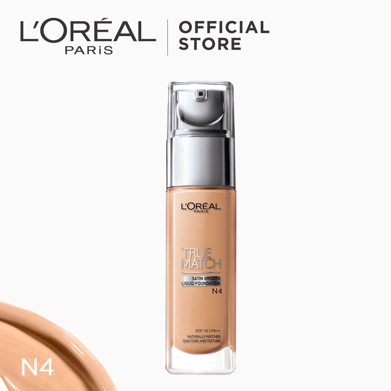 True Match Natural Finish Liquid Foundation - N4 Nude Beige by LOréal Paris Philippines