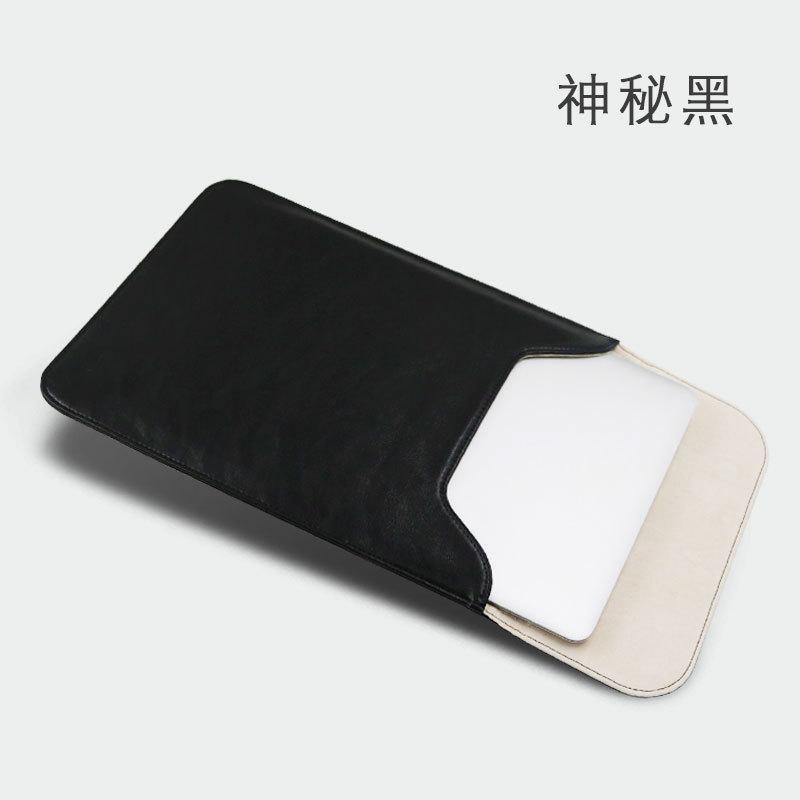 Apple ID notebook air13.3 inch Tas laptop Macbook12 Sarung laptop pro13 Casing 15 pembuatan sesuai pesanan 11.6 Xiaomi Lenovo Shincan HUAWEI1 14-inch Mudah Dibawa Bagian dalam sarung kulit model untuk pria dan wanita