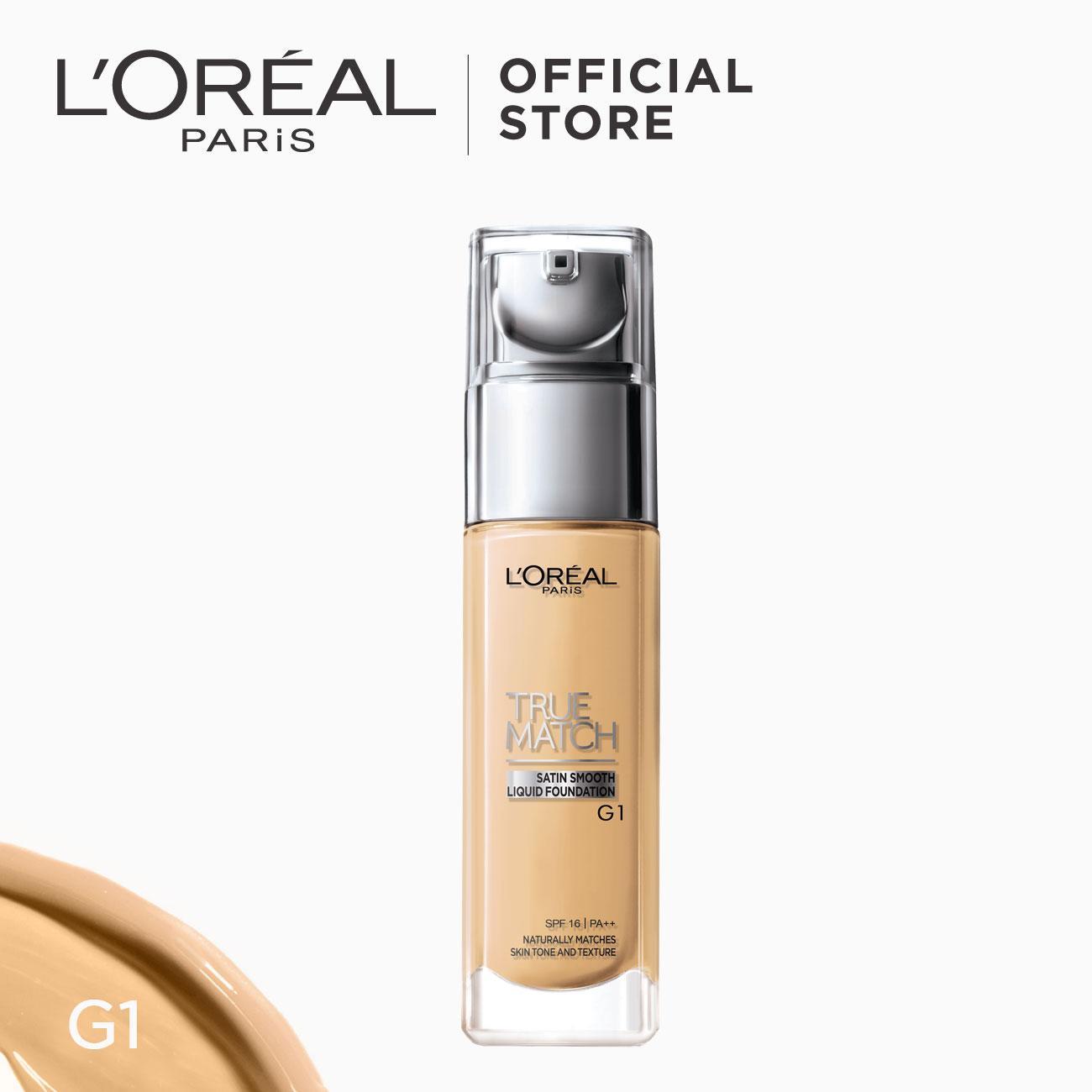True Match Natural Finish Liquid Foundation - G1 Rose Gold Ivory by LOréal Paris Philippines
