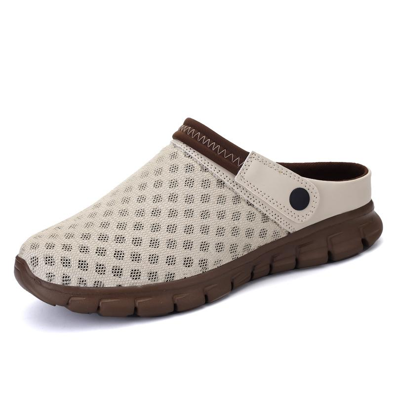 Mon Men Slip On Garden Shoes Lightweight Beach Sandals For Casual Water Slippers