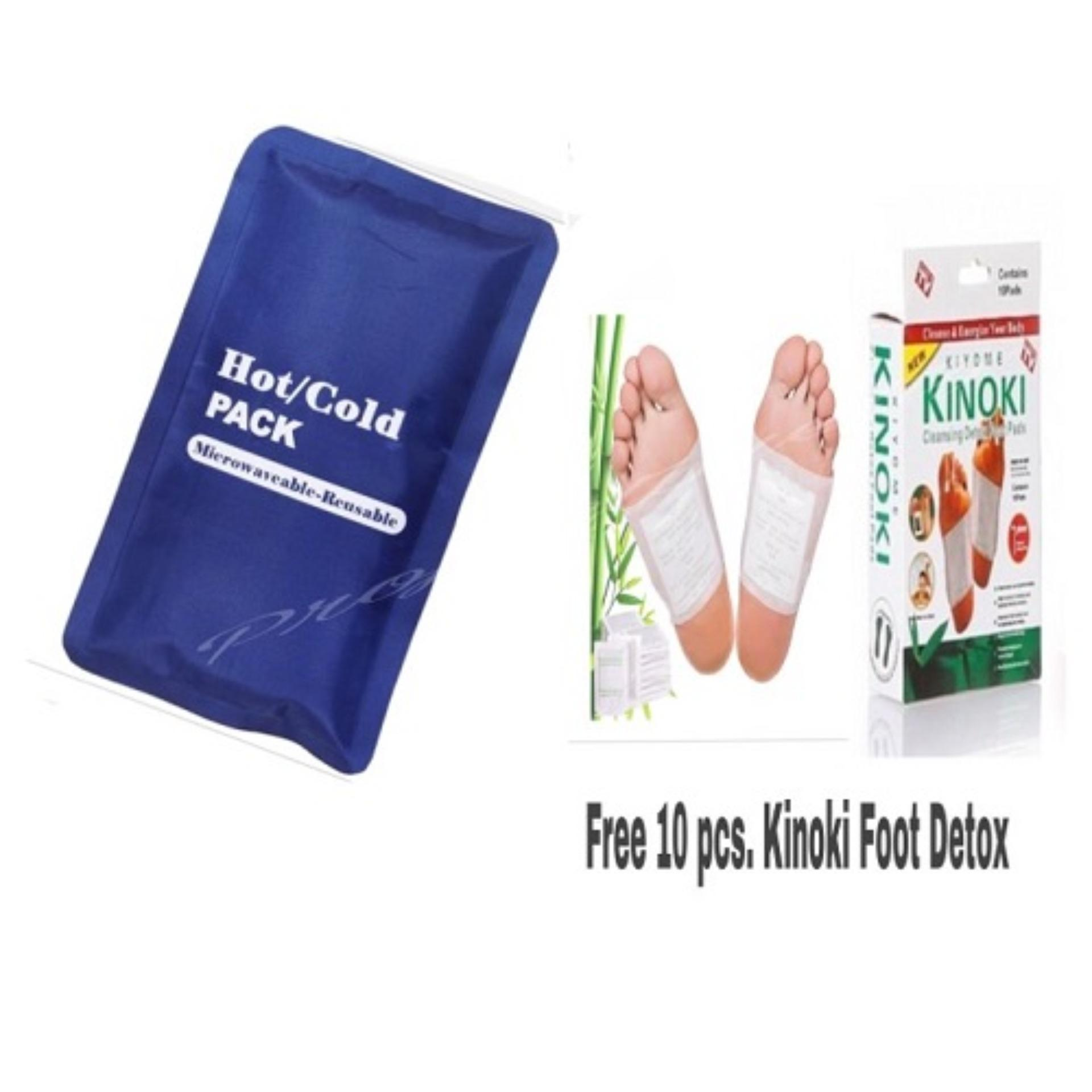 Buy Sell Cheapest Bih Kinoki 10 Best Quality Product Deals Gold Per Box Hot And Cold Reusable Compress Bag Free Pads Foot Detox