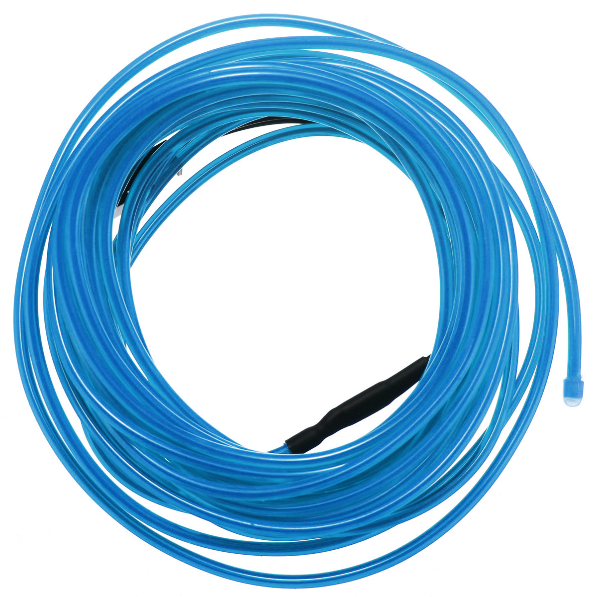 5M EL Wire w Battery-powered Controller Neon Light Flexible Blue ...