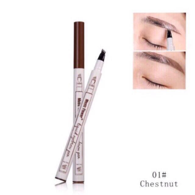 music flower liquid eyebrow pen (waterproof) Philippines