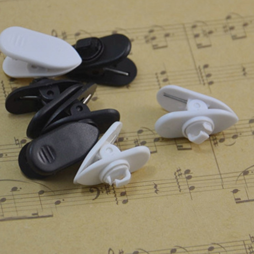 10 x Earphone Cable Cord Wire Lapel Clip (earphone not include)