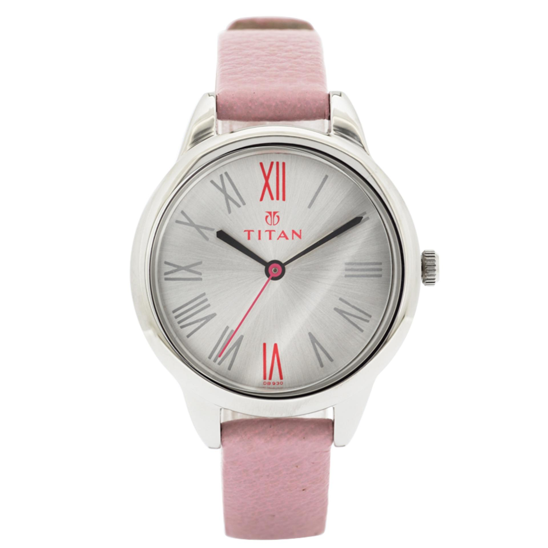 Titan Leather Quartz watch for Ladies TTN2481SL01