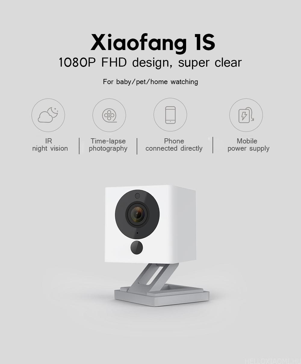 Xiaomi Xiaofang 1S Smart IP Camera Night Vision / IR-cut