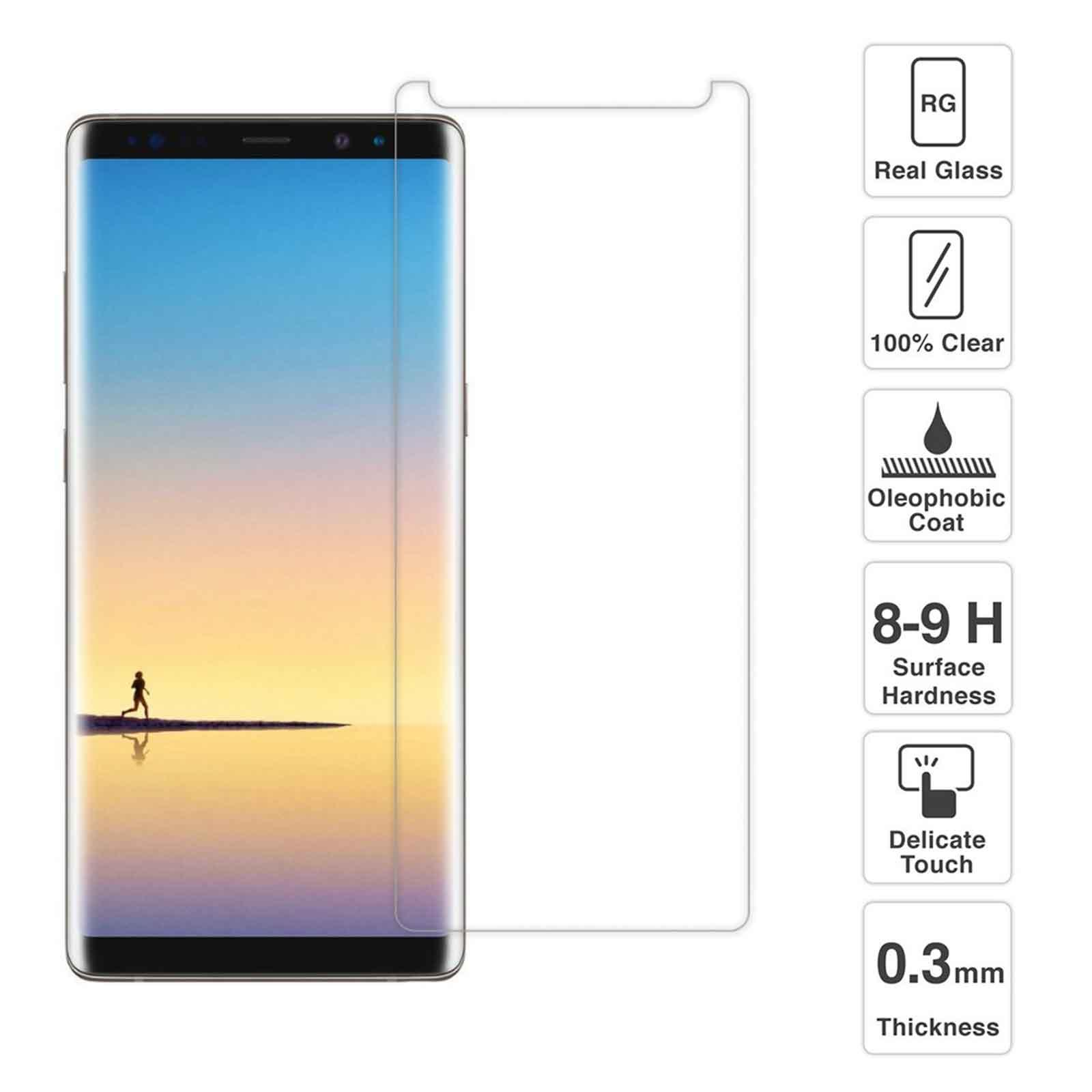 Buy Sell Cheapest 0 25mm 9h Best Quality Product Deals Tempered Glass For Samsung Galaxy N910 Note 4 8 N950 Screen Protector 25d