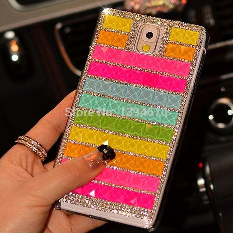Buatan Tangan Batu Permata Imitasi Berkelip Kilau Clear Casing Handphone untuk ZTE Blade V9 Vita Cover Case-Intl