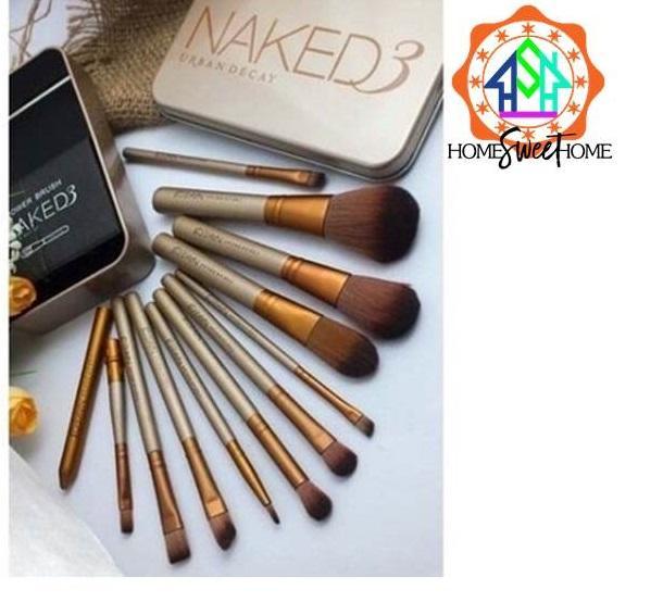 12pcs Naked Portable Brush Set Philippines
