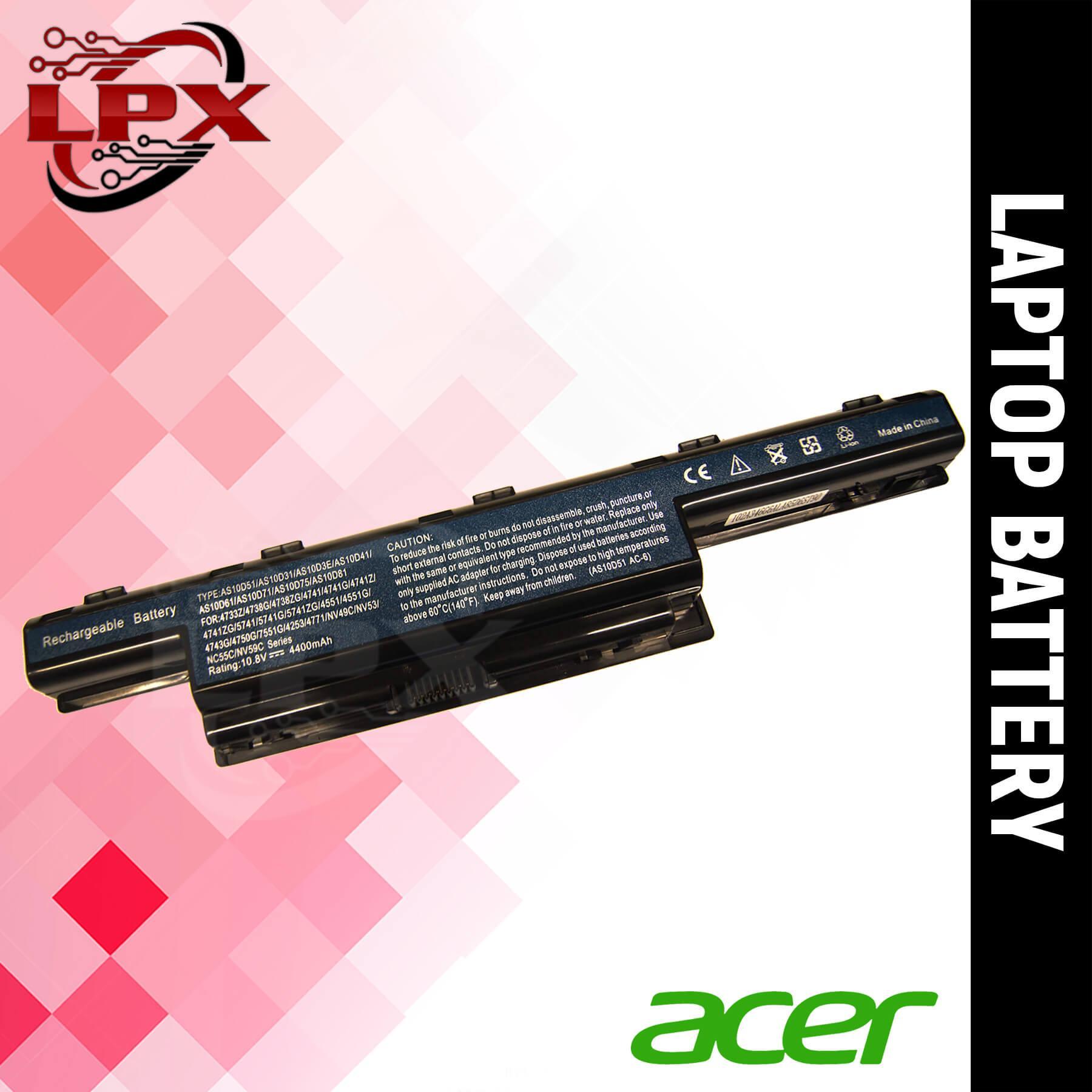 Laptop Battery For Acer Aspire 4741/5741/5742/5750/4755/4752