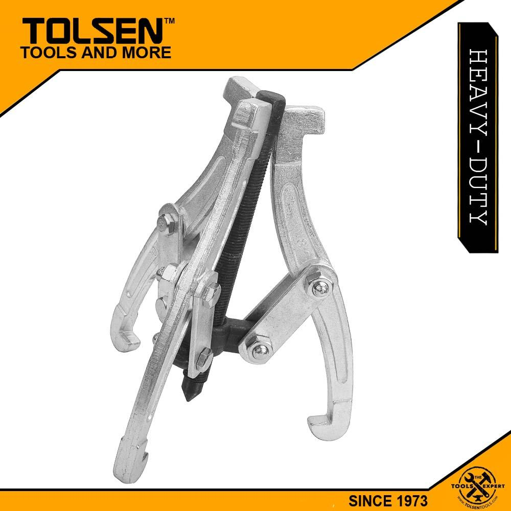Tolsen Three-Jaw Gear Puller Adjustable (6) Extractor Puller 65012 Philippines