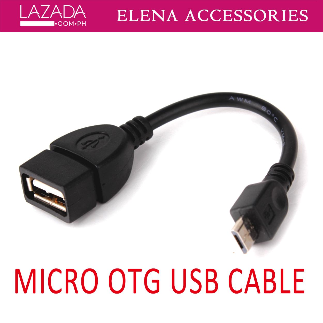 Phone cables for sale phone connectors prices brands specs in new micro usb data cable support with mobile phone and tablets black otg cableadapter keyboard keysfo Gallery