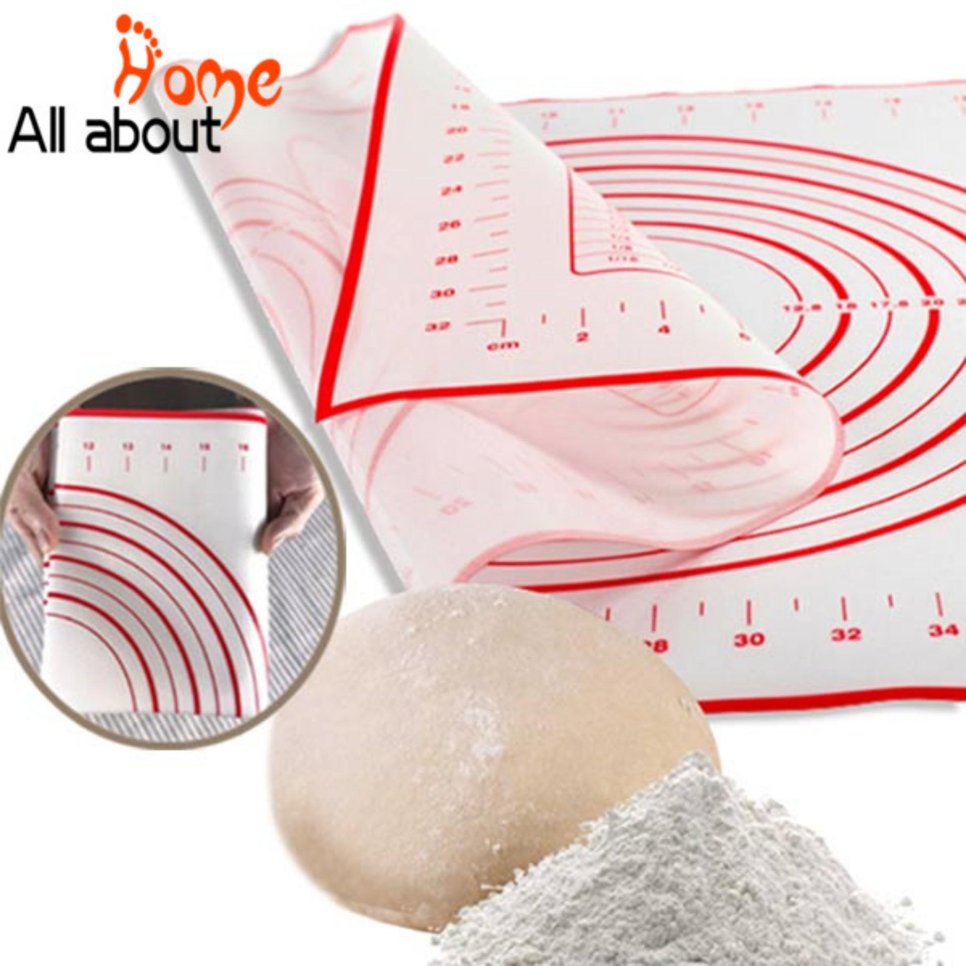 60x40CM Silicone Baking Mat Sheet Rolling Dough Liners Pad - intl