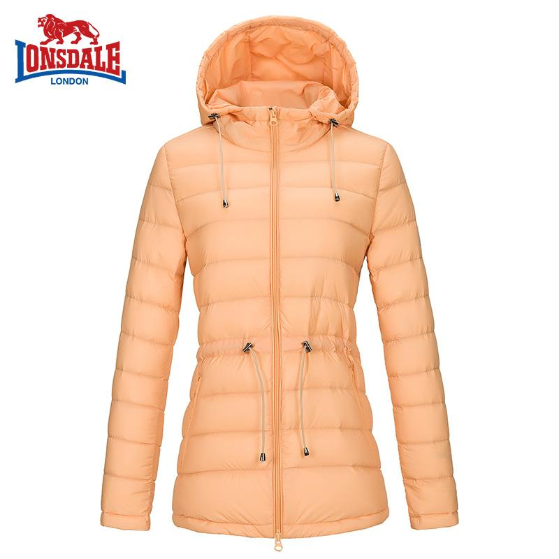 LONSDALE jaket bulu angsa wanita model pendek Ringan dan Tipis ukuran besar  Gaya Korea musim gugur b6dda6bd8f