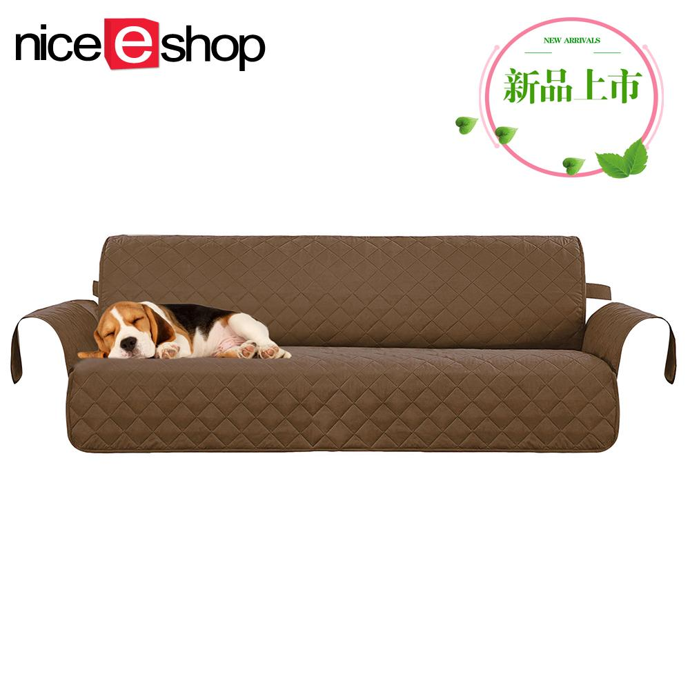 Nicee 3 Seater Sofa Slipcovers Professional Non Slip Quilted Pet Protector Cover Seat