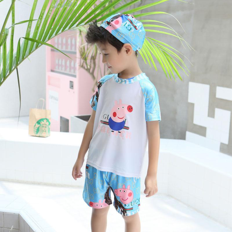 Anak Laki-Laki Kecil Baju Renang Anak-anak Anak Kecil Terpisah Anak
