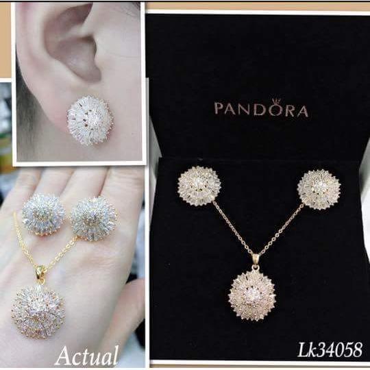 8a237d0f9 ... norway pandora sets of necklaceearrings 18k halo original  swarovskylk34058 . b1a78 d70cd ...