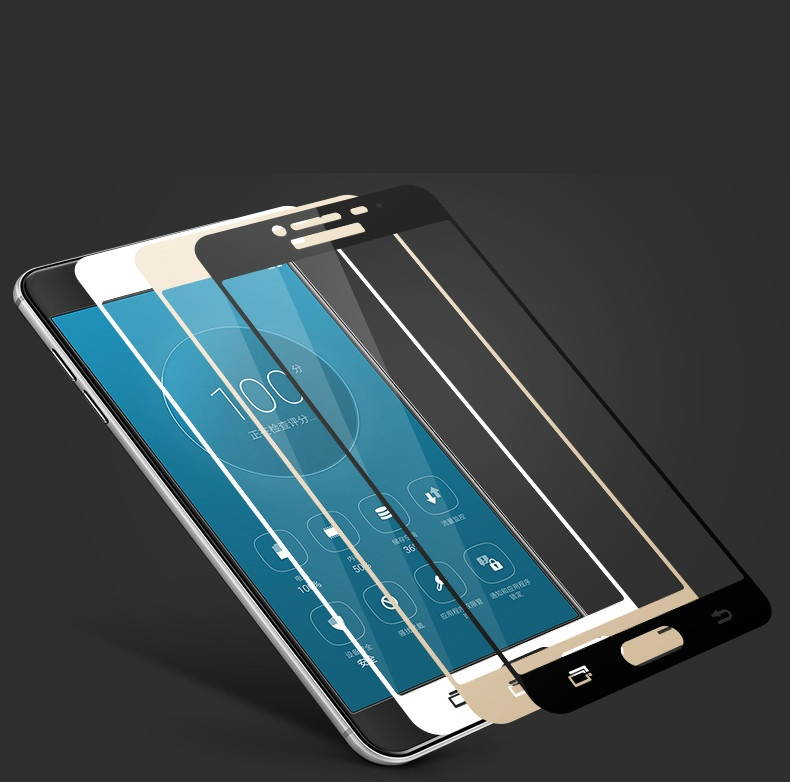 Specifications of Tempered Glass Full Screen Protector HD For Samsung Galaxy J5 Prime (Black)