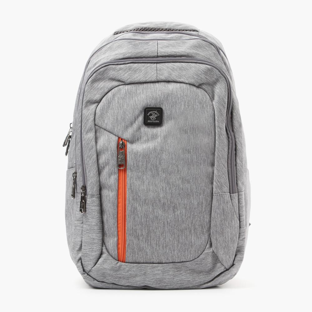 Beverly Hills Polo Club Mens 061 Backpack Gray
