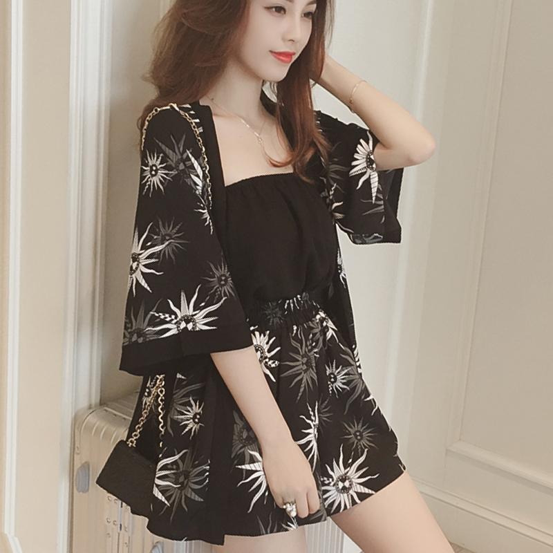 Large Girl s Summer Wear 2018 New Style Plus-sized Women s Dress 200 Jin  Two- 69494cc3e4df