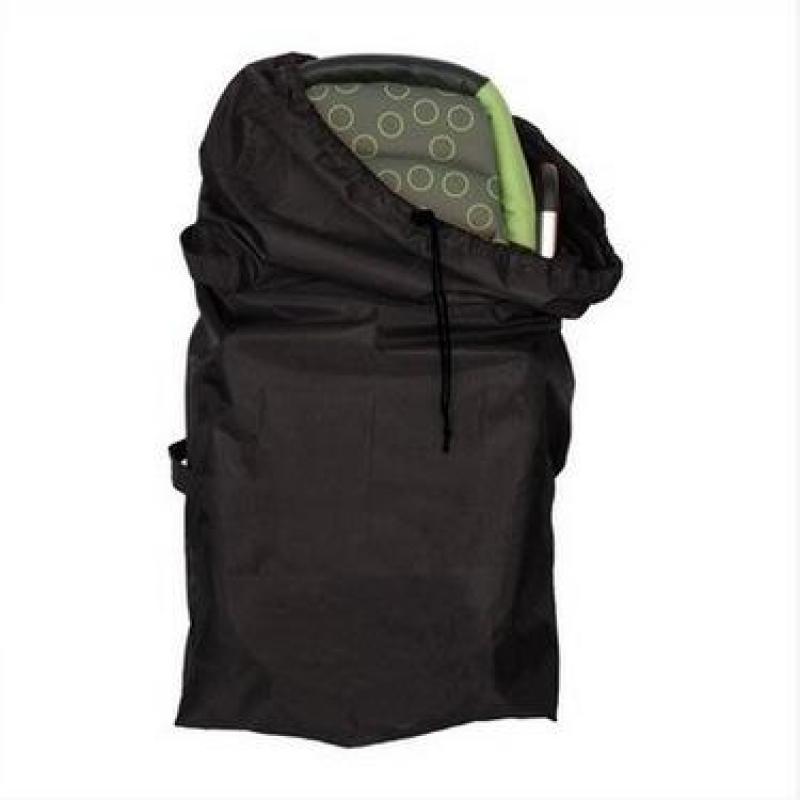 【2pcs Free Shipping】 Stroller Storage Bag OEM,Universal Stroller/ Umbrella Stroller Travel Bag Black Oxford Cloth Storage Bag with Drawstring Closure Stroller Protect Cover Singapore