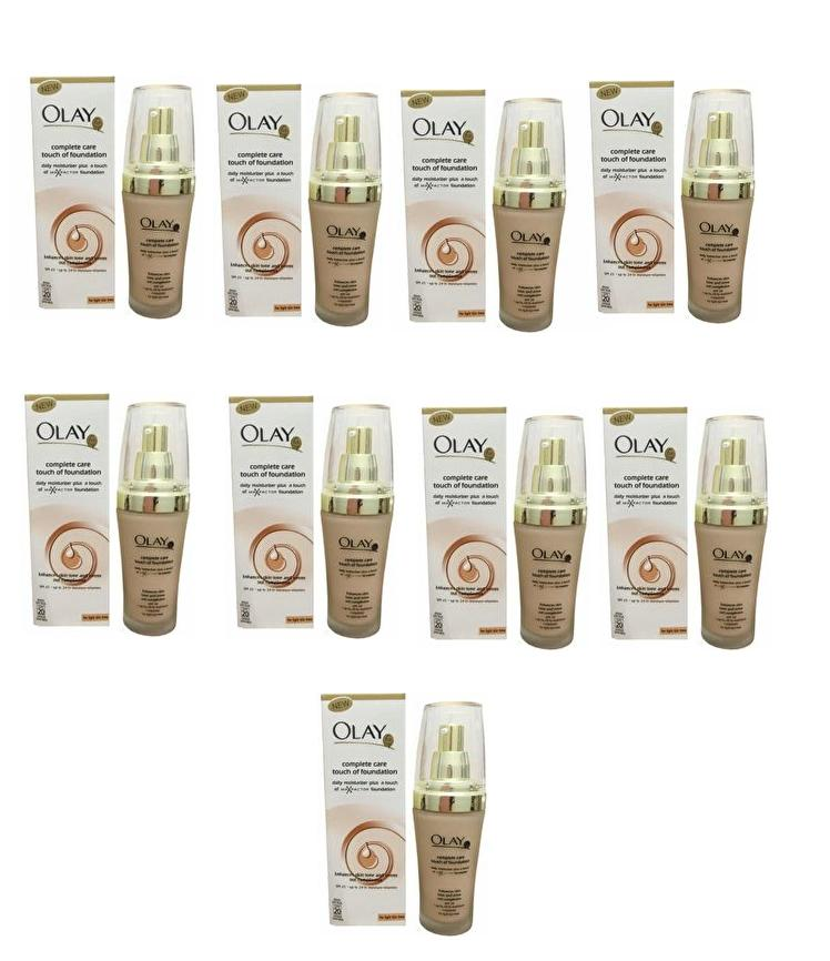 Olay Complete Care Touch of Foundation SPF 20 Set of 9 Philippines