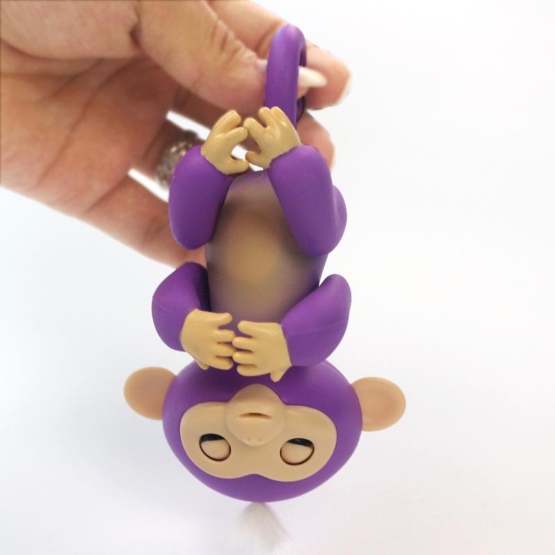 Fingerlings Glitter Finger Monkey Electronic Toy Doll