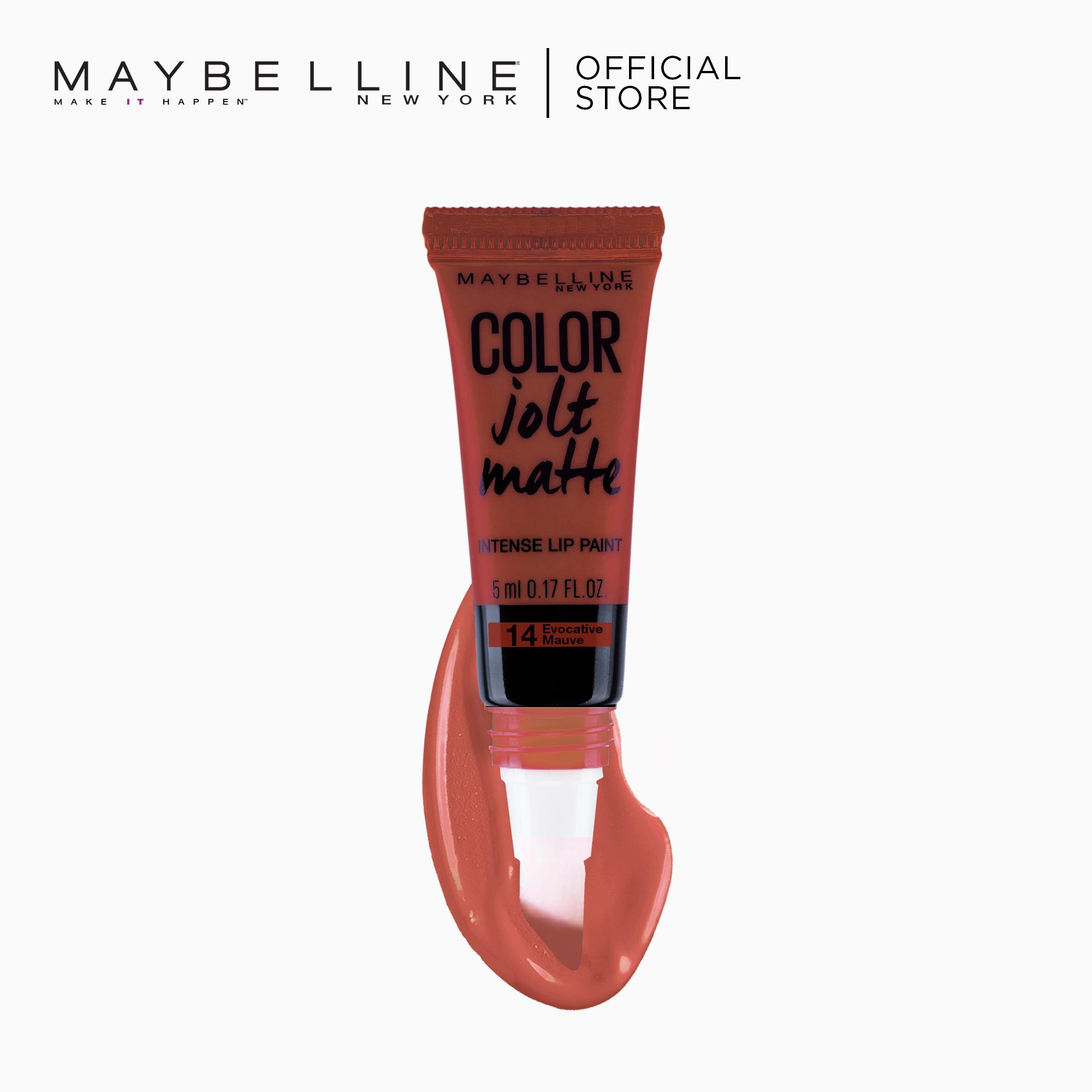 Color Jolt Matte Lip Paint – 14 Evocative Mauve [#PaintItMatte] by Maybelline Lip Studio Philippines
