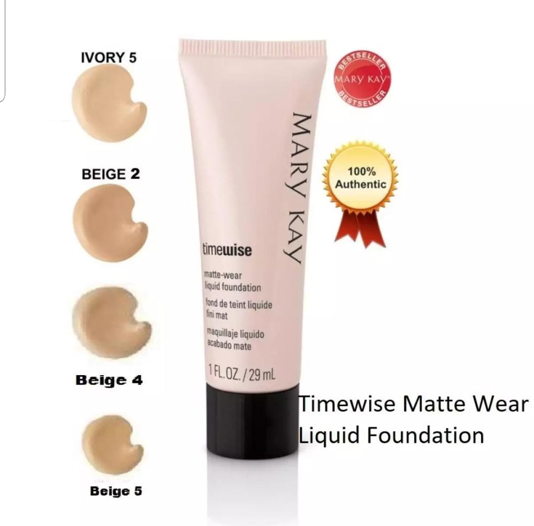 Mary K TimeWise  MATTE-Wear Liquid Foundation BEIGE 2 Philippines