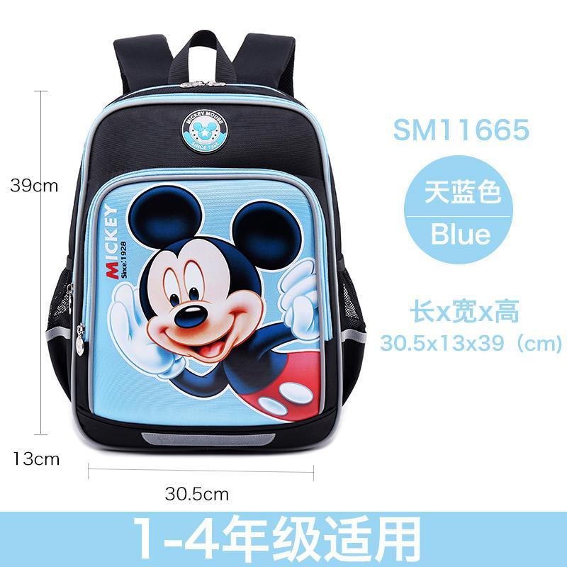 878b400e541 Disney School Bag Young Student s Men And Women Children 1-3-4 Grade Mickey