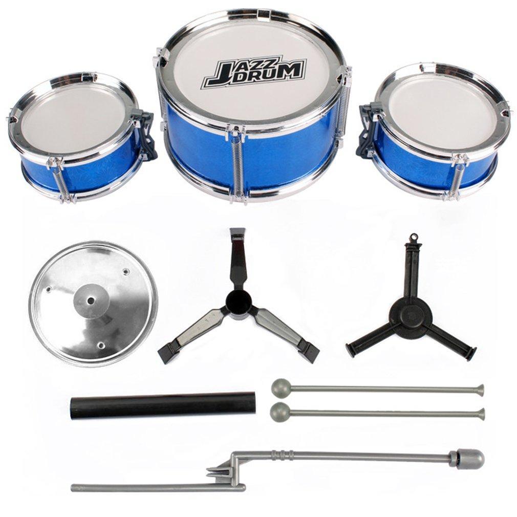 Crazy Sale 3-Piece Kids Drum Set Children Junior Drums Kit Percussion Musical Instrument By Run2top.