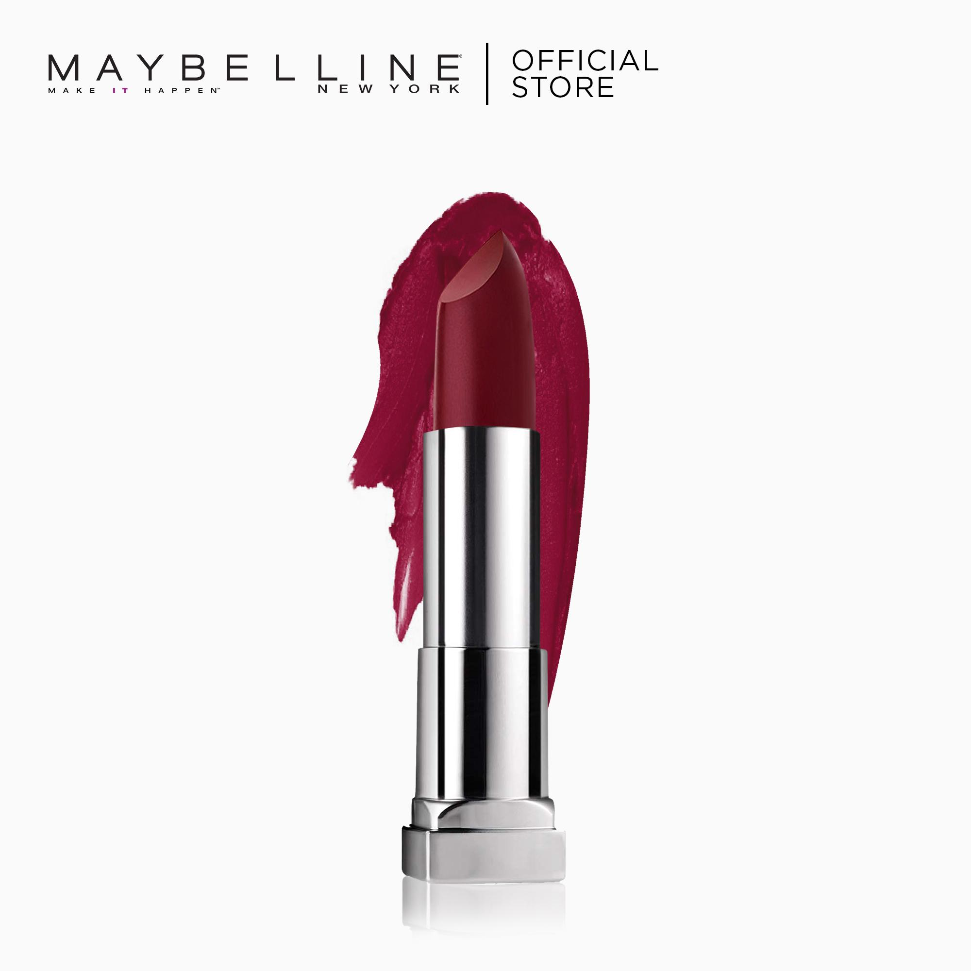 Creamy Matte Lipstick – 695 Divine Wine [New Yorks #1] by Maybelline Color Sensational Philippines