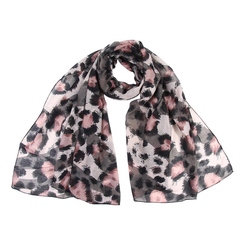 4b22e4d4ac4 Women Ladies Leopard Print Scarf Wrap Shawls Headband Soft Shawl Long Scarf