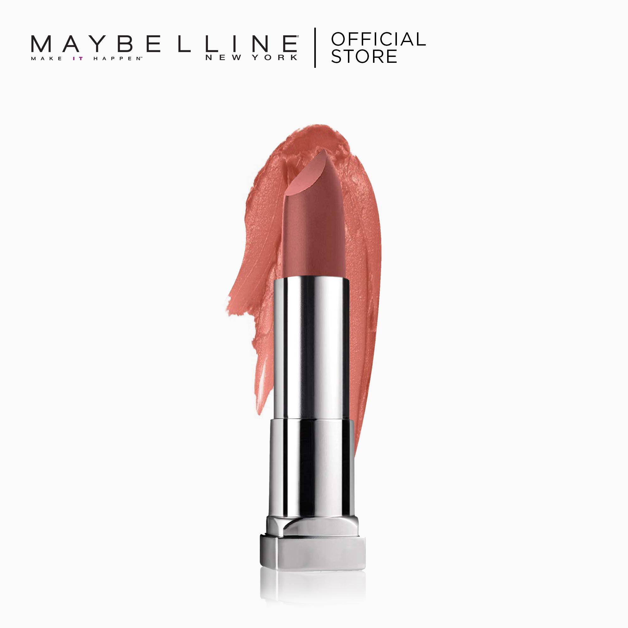 Creamy Matte Lipstick – 656 Clay Crush [New Yorks #1] by Maybelline Color Sensational Philippines
