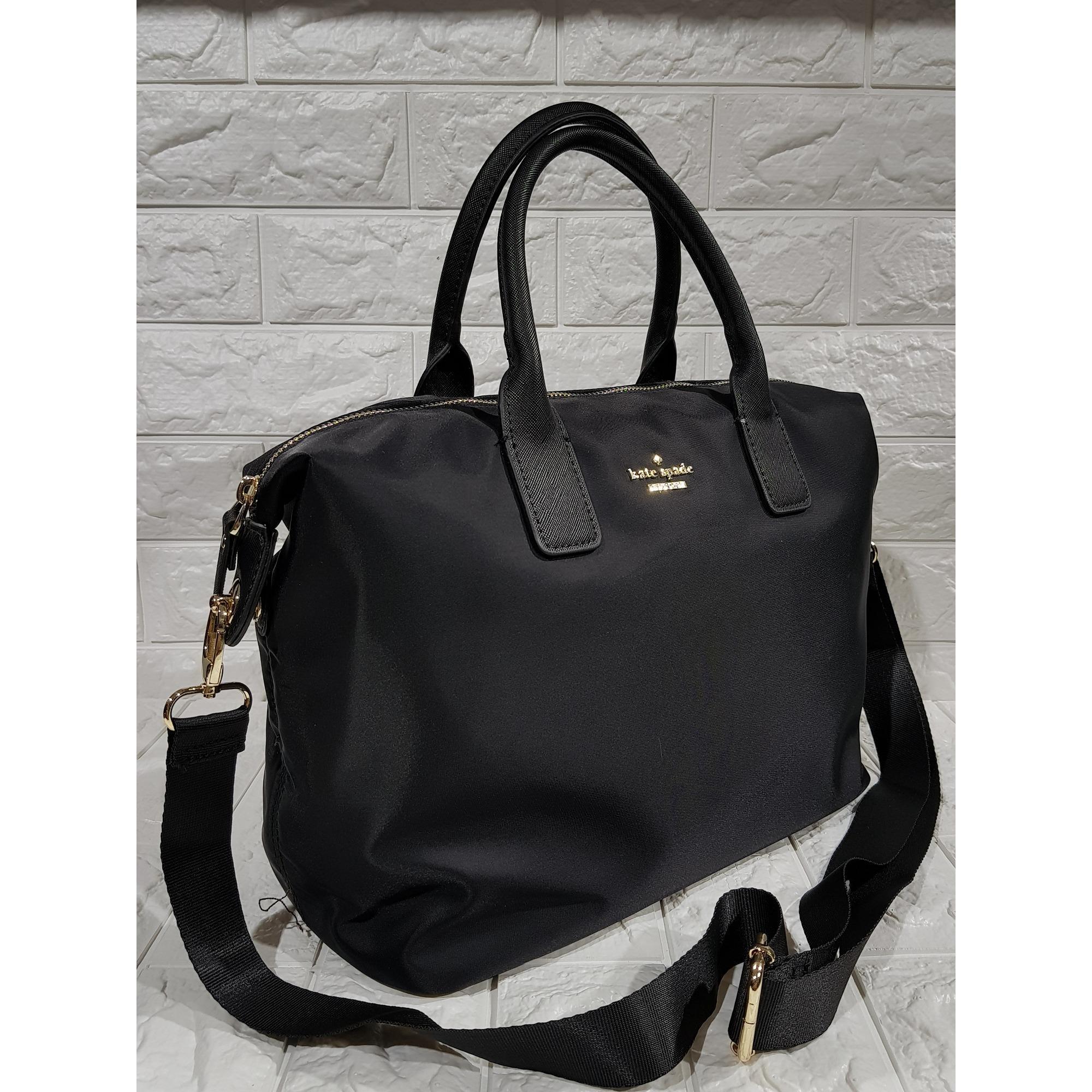 Kate Spade Classic Weekender Bag Lyla Black