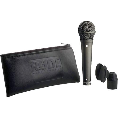 Rode S1 Supercardioid Condenser Handheld Microphone (Black)