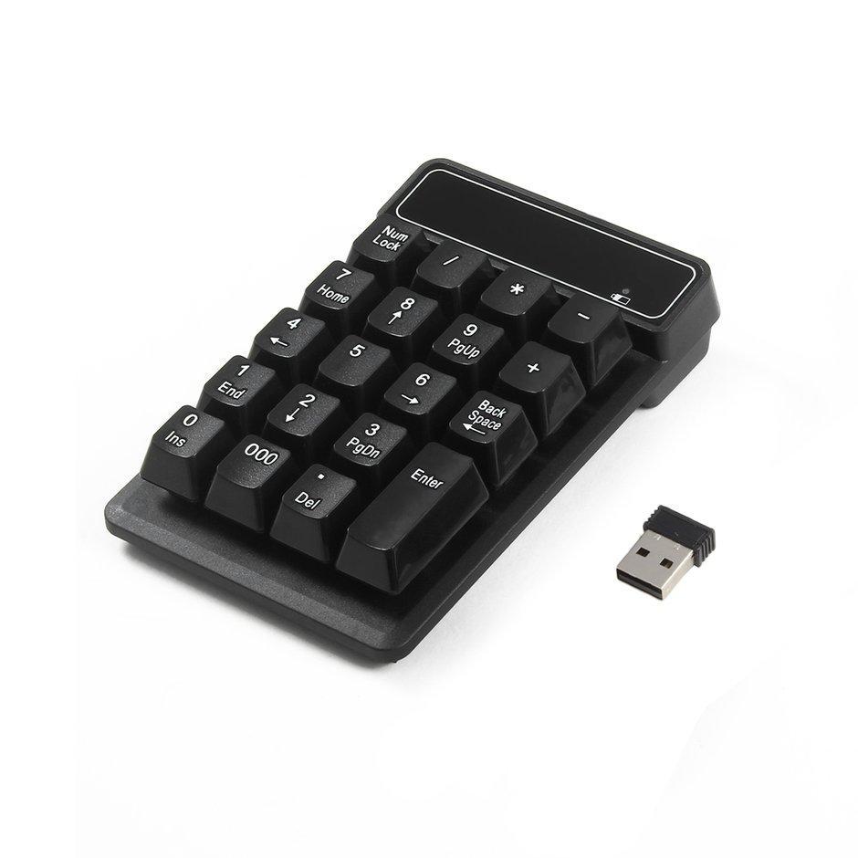 Buy Sell Cheapest Numeric Keypad Wireless Best Quality Product Numpad Cliptec 24g Usb Mini Tombol Angka 19 Ultra Ringan Untuk Desktop Notebook