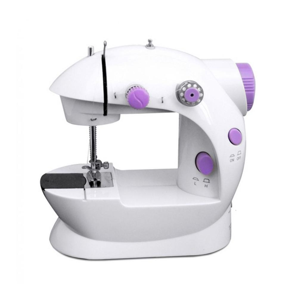 Sewing Machine For Sale Embroidery Prices Brands Review Wiring Harness Iding Portable Handheld Mini Electric Charger Double Thread White Lavender