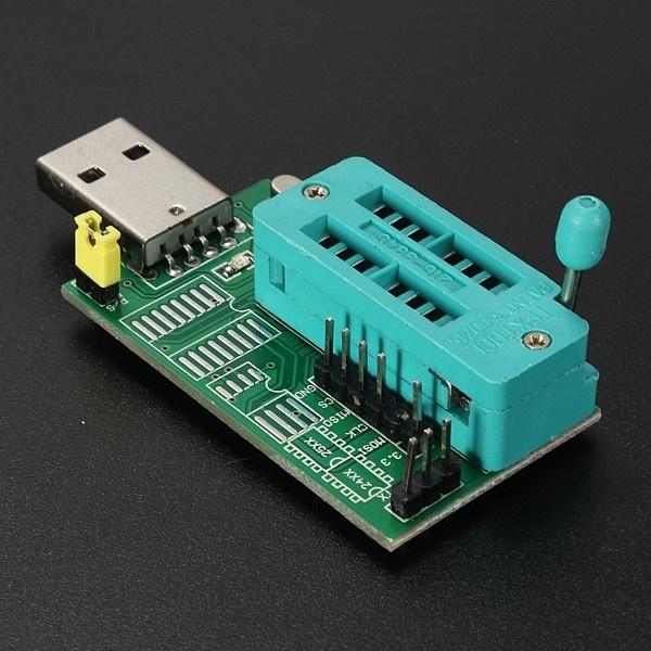 24 25 Series EEPROM Flash BIOS USB Programmer CH341A Module W/ Software &  Driver - intl