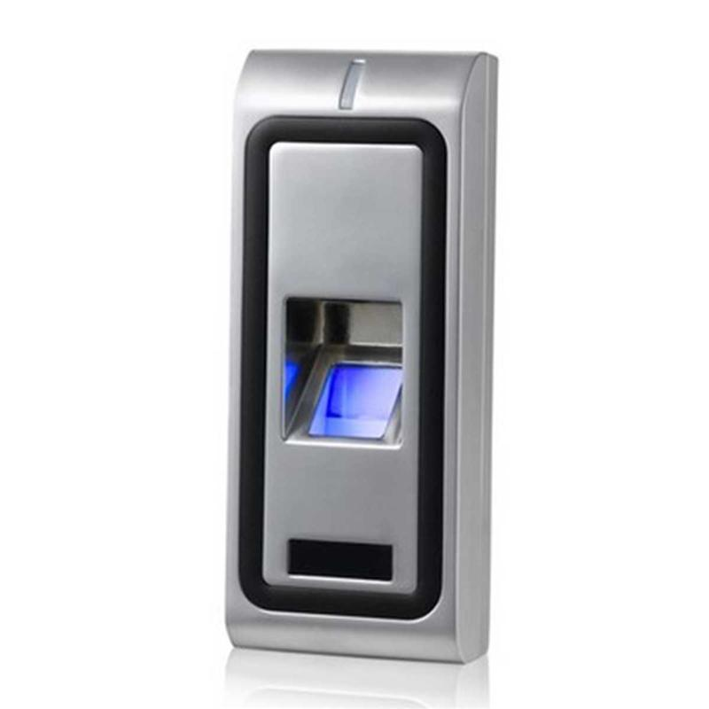 Newest RFID Access Control Reader Standalone Biometric Fingerprint Access controller Door Opener 125KHZ WG26 output 500users