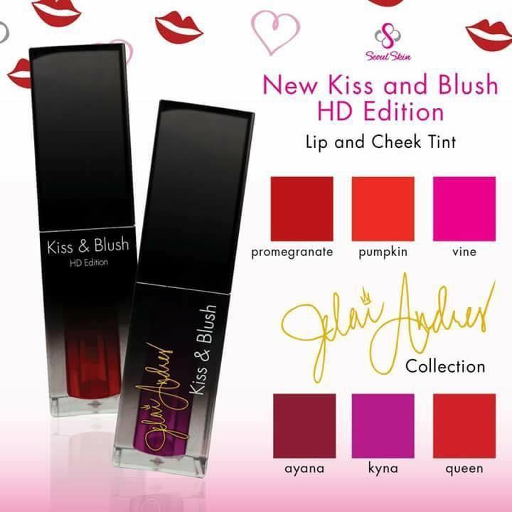 Kiss & Blush - Vine - HD Edition Lip & Cheek Tint 10 ml Philippines