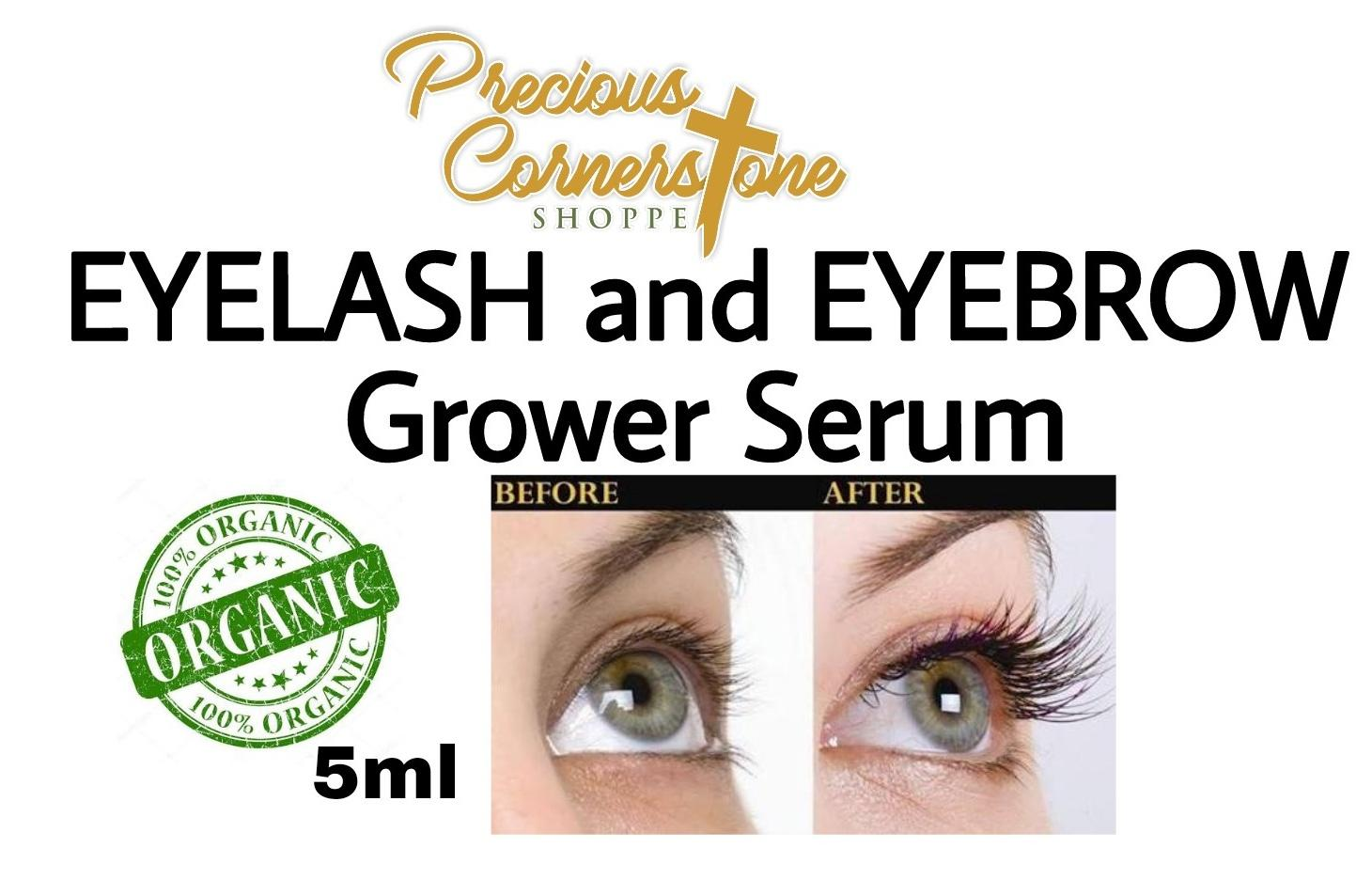 ORGANIC EYELASH AND EYEBROW GROWER 5ml Philippines