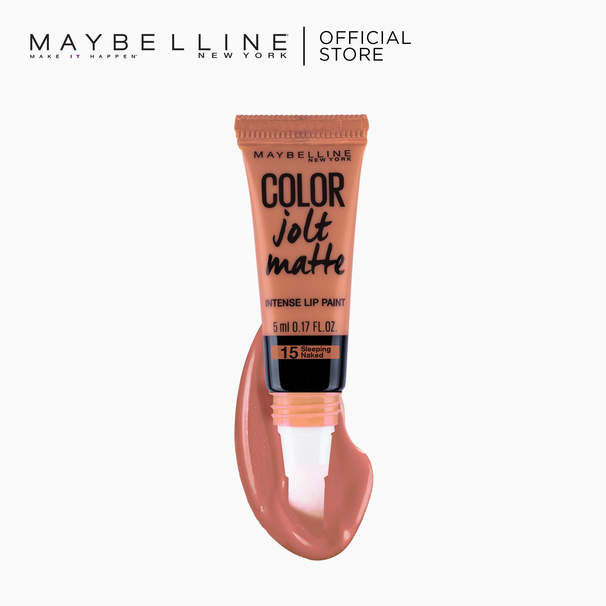 Color Jolt Matte Lip Paint – 15 Sleeping Naked [#PaintItMatte] by Maybelline Lip Studio Philippines