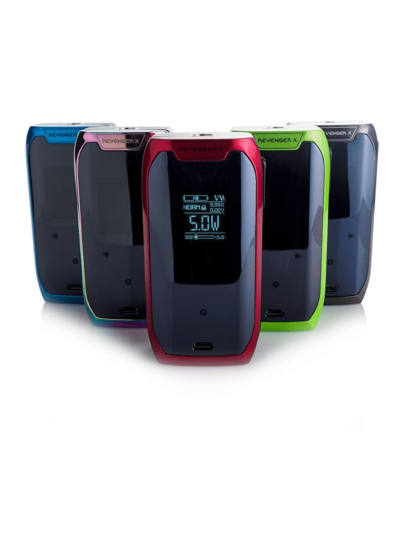 SPACICKIE Silicone Holder Cover Case Pouch Sleeve For Vaporesso Revenger  220W BK
