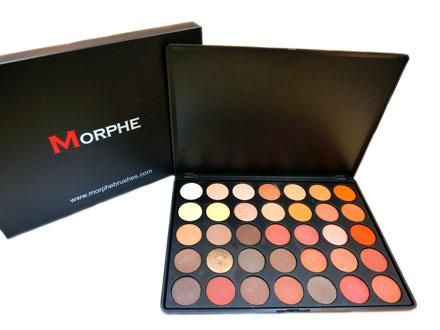 Morphe 35O colors nature glow eyeshadow palette Philippines