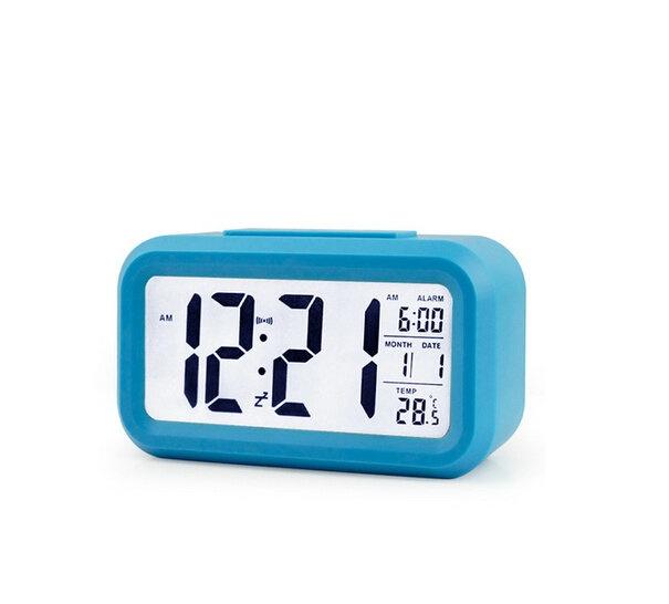 niceeshop silent digital alarm clock with time temperature display