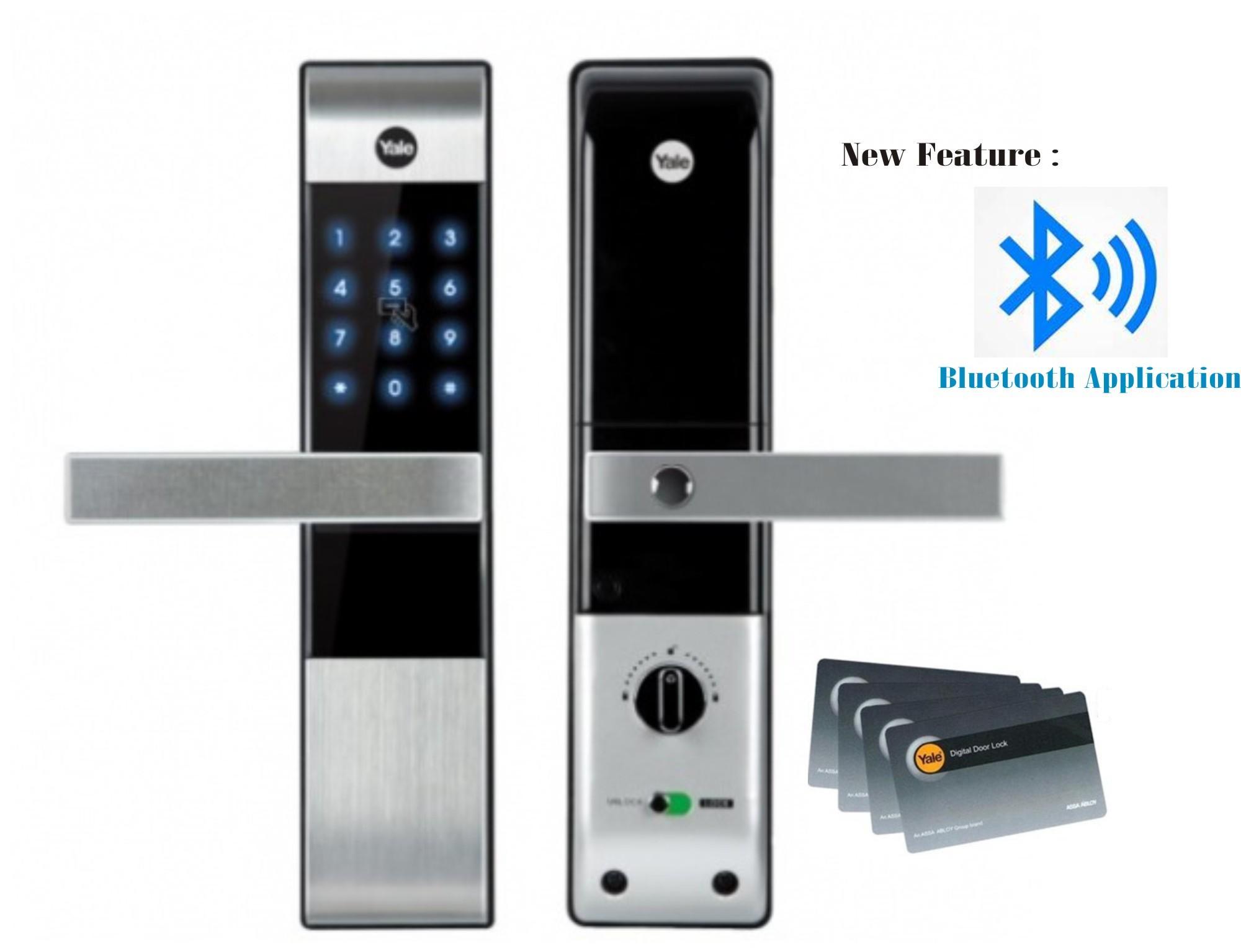 yale fingerprint doors lock digital watch door youtube