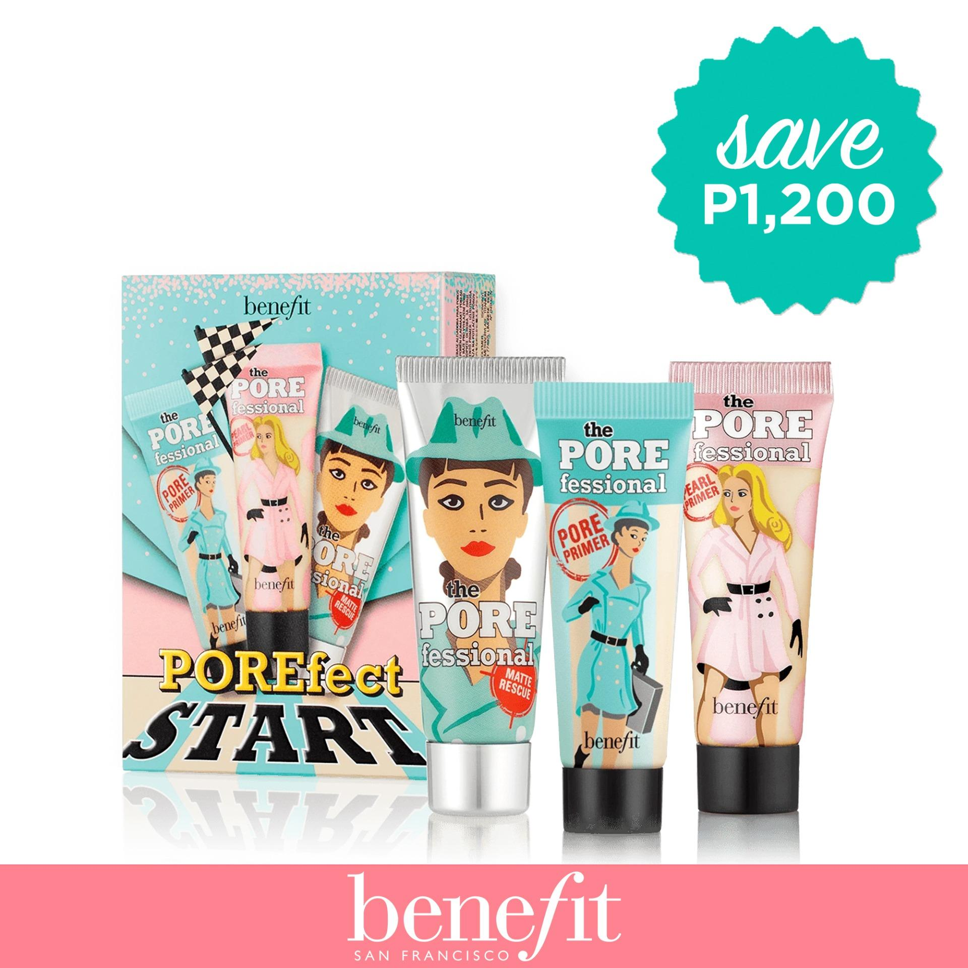 Benefit Porefect Start Porefessional Starter Set 2018 Philippines