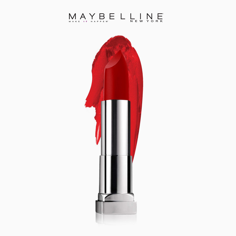 Maybelline Color Sensational Creamy Matte Lipstick Siren In Scarlet Eye Lip Makeup Remover 70 Ml Philippines